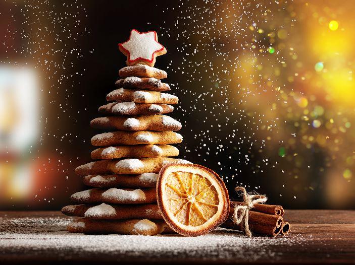 Πως να φτιάξεις ένα χριστουγεννιάτικο δέντρο από μπισκότα!