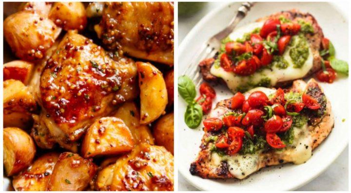 5 Πανεύκολες συνταγές για λαχταριστό κοτόπουλο!