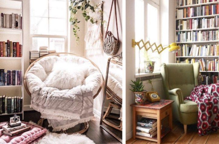 Πώς να δημιουργήσεις μια ζεστή γωνία για διάβασμα!