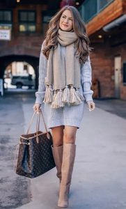 γυναικείο κασκόλ outfit ediva.gr