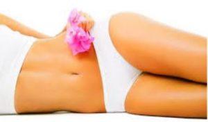 γυναίκα ευαίσθητη περιοχή ροζ λουλούδι