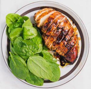 κοτόπουλο με σως από μπαλσάμικο