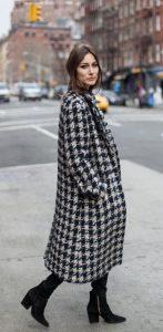 μακρύ ζεστό παλτό