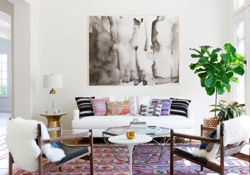διακόσμηση άνεση σαλόνι