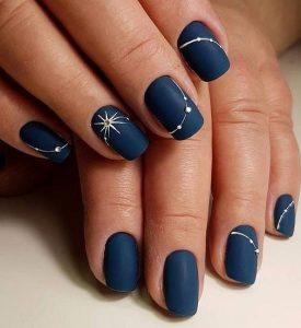 μπλε ματ αστέρια άκρα