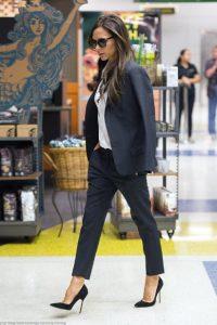 μαύρο υφασμάτινο παντελόνι σακάκι tips γυναίκες άνω 40