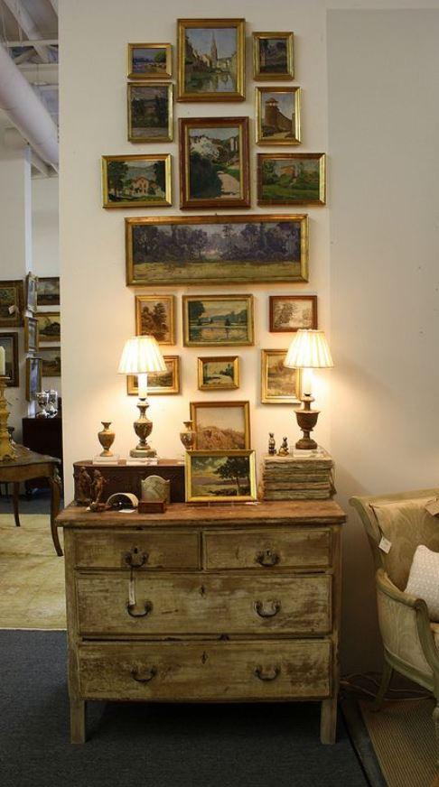παλιοί πίνακες διακόσμηση τοίχου vintage
