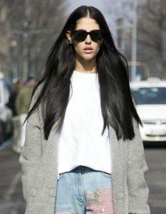 πολύ μακρύ μαλλί μελαχρινή κουρέματα μελαχρινές