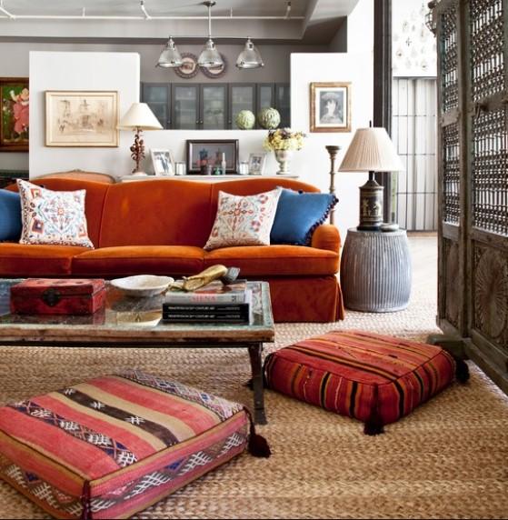 πουφ, καθιστικό, σαλόνι, διακόσμηση, άνεση