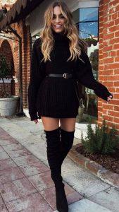 total black γυναικείο ντύσιμο