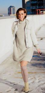 χειμερινό ντύσιμο jean μπουφάν