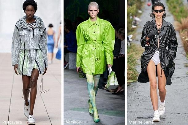 αδιάβροχα γυναικεία πανωφόρια Άνοιξη 2020