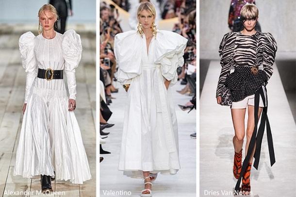 γυναικείες μπλούζες φορέματα φουσκωτά μανίκια