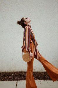 ρετρό τσάντα με αέρα δεκαετίας του '70