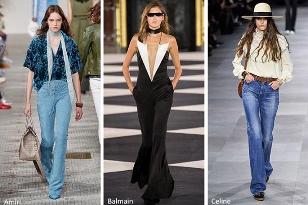 ανοιξιάτικα γυναικεία παντελόνια καμπάνα trend