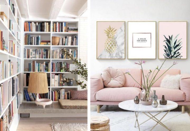 5 Ιδέες για να διακοσμήσεις τους τοίχους του σαλονιού!