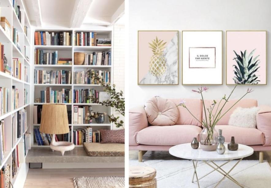 ιδεες διακοσμηση τοιχου σαλονιου