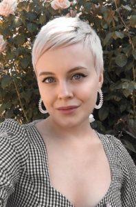 κοντό αγορέ μαλλί γυναίκα