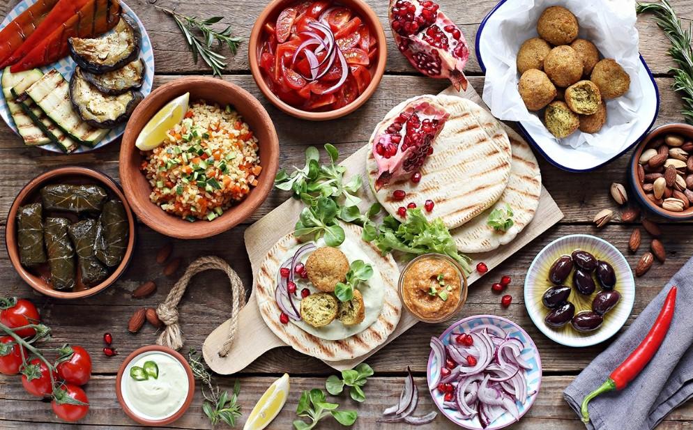 μεσογειακή διατροφή για να μεγαλώσεις όμορφα