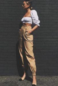 στρατιωτικό παντελόνι γυναικείο