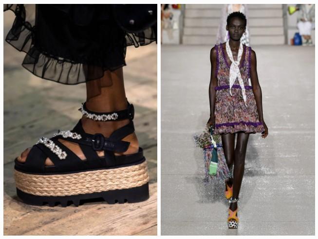γυναικεία παπούτσια πλατφόρμες
