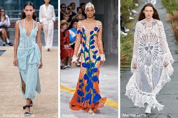 τάσεις μόδας άνοιξη 2020 πλεκτά ρούχα