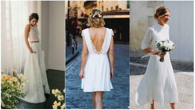 5 Ιδέες ντυσίματος αν παντρεύεσαι με πολιτικό γάμο!