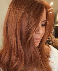 Πορτοκαλί μαλλιά