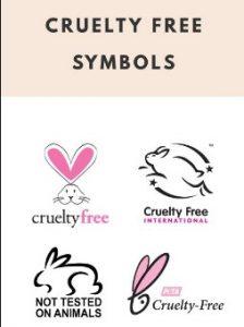 σημάδι στα καλλυντικά που υποδηλώνει ότι δεν τεστάρονται σε ζώα