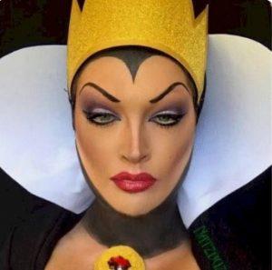 κακιά βασίλισσα χιονάτη μακιγιάζ