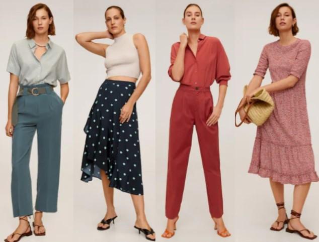 γυναικεία ρούχα mango άνοιξη καλοκαίρι 2020