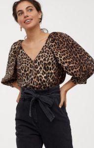 λεοπάρ ανοιξιάτικη γυναικεία μπλούζα