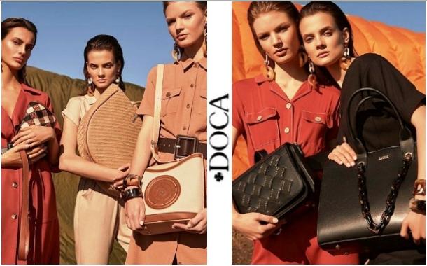 Καλοκαιρινές γυναικείες τσάντες Doca 2020
