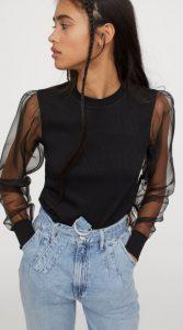 ανοιξιάτικες γυναικείες μπλούζες h&m 2020