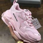 ανοιχτό ροζ αθλητικά balenciaga