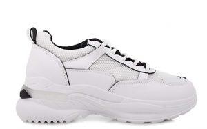 άσπρα chunky sneakers