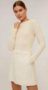 άσπρη μινι φούστα