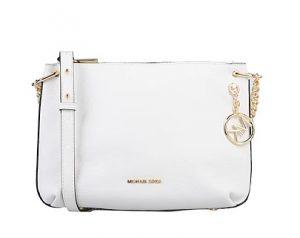 άσπρη τσάντα ταχυδρόμου