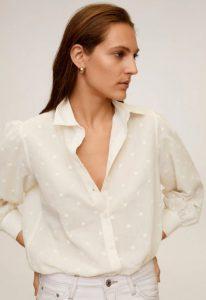 άσπρο πουκάμισο