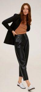 δερμάτινο γυναικείο παντελόνι