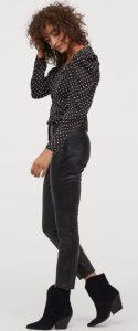 γυναικείο δερμάτινο παντελόνι h&m 2020