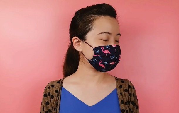 diy μάσκα προστασίας αναπνοής