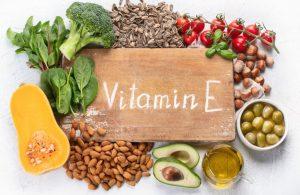 φαγητά με υψηλή περιεκτικότητα σε βιταμίνη Ε