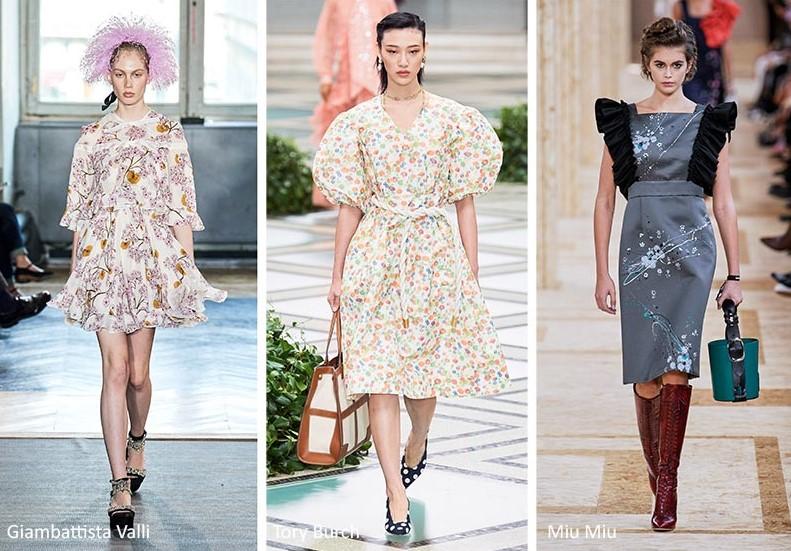 φλοράλ prints φορέματα για άνοιξη