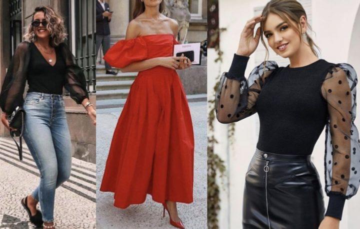 Πως να φορέσεις φέτος τα μεγάλα φουσκωτά μανίκια!