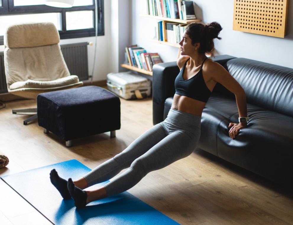 Η φυσική άσκηση είναι καλός τρόπος για να ανεβασεις τη ψυχολογία σου και να φροτίσεις το σώμα σου