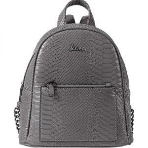 γκρι backpack δέρμα φιδιού