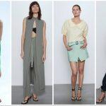 γυναικεία ρούχα Zara Άνοιξη καλοκαίρι 2020