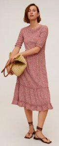 γυναικείο ανοιξιάτικο φόρεμα