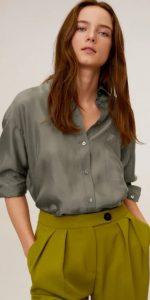 γυναικείο πουκάμισο με τσέπη